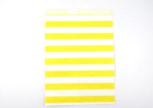 Yellow Horizontal Stripes Bags