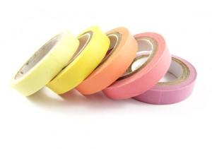 Pink Washi Tape 5 Pack