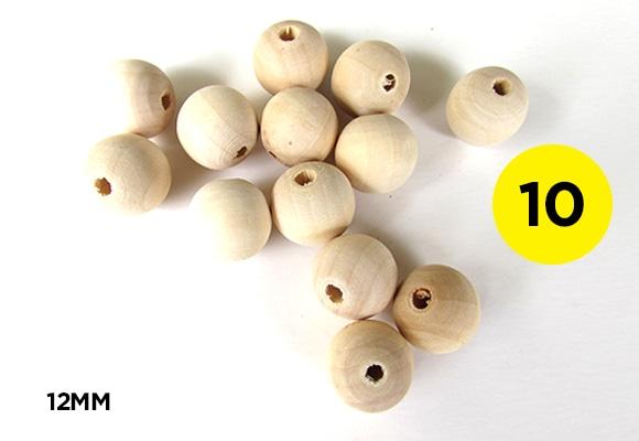 12mm Round Beads
