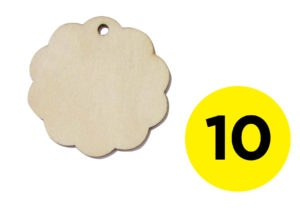 Laser Cut Wooden Gift Tags