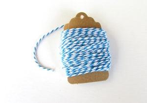 Baker's Twine Blue & White
