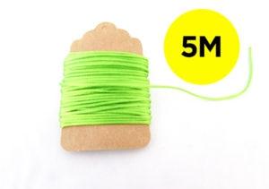 Green Neon Twine 5m