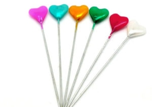 30 Heart Sewing Pins
