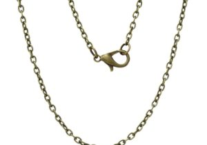 62cm Antique Bronze Chain