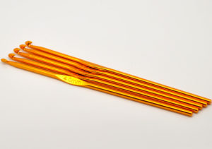 4mm Coloured Aluminium Crochet Hook